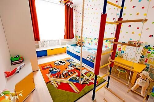Дизайн интерьера детской для мальчика в Молдове