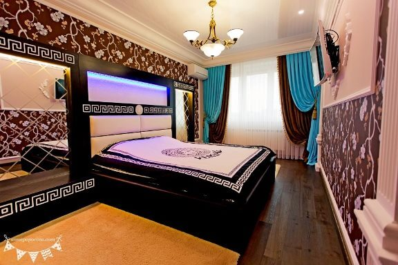 Элитный ремонт спальни в Кишиневе