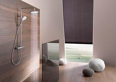 Встроенная душевая система KLUDI для евроремонта квартир в Кишиневе