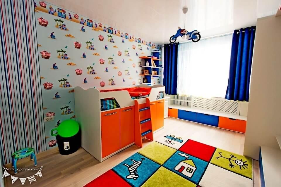 Дизайн с евроремонтом детской комнаты Молдова